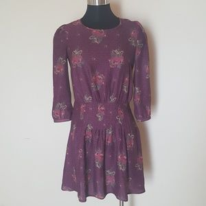 Urban Outfitters Kimchi Dress Size 2 Eggplant